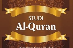 depan cover studi alquran copy